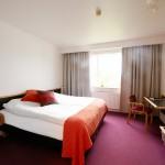 double room at Hotel Varmahlid Skagafjordur North Iceland