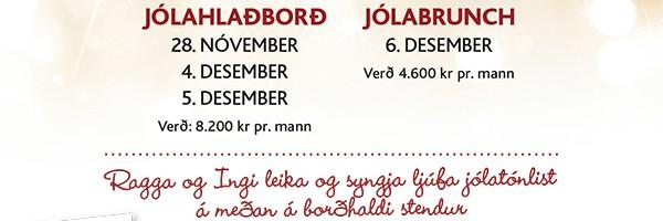 Jólahlaðborð 2015